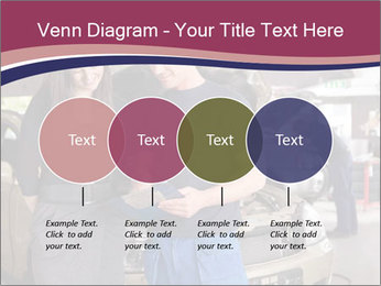 Mechanic and woman PowerPoint Template - Slide 32