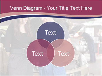 Mechanic and woman PowerPoint Template - Slide 33