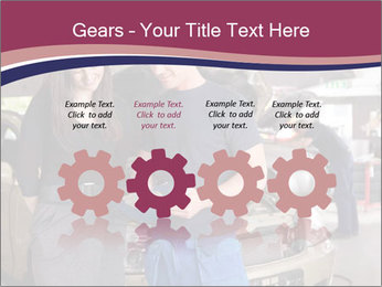 Mechanic and woman PowerPoint Template - Slide 48
