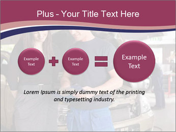 Mechanic and woman PowerPoint Template - Slide 75