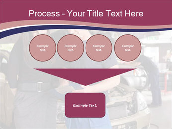 Mechanic and woman PowerPoint Template - Slide 93
