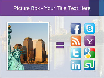 Beautiful Austin skyline PowerPoint Template - Slide 21