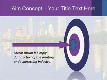 Beautiful Austin skyline PowerPoint Template - Slide 83
