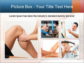Patient at the physiotherapy PowerPoint Template - Slide 19