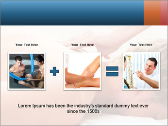 Patient at the physiotherapy PowerPoint Template - Slide 22