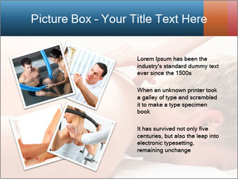 Patient at the physiotherapy PowerPoint Templates - Slide 23