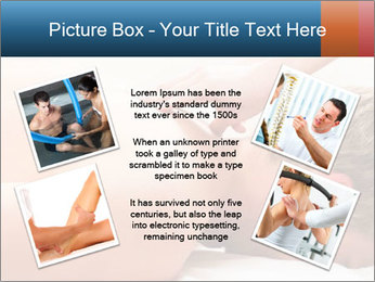 Patient at the physiotherapy PowerPoint Templates - Slide 24