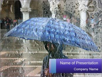 Heavy Rain PowerPoint Templates - Slide 1