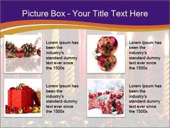 Christmas candles PowerPoint Template - Slide 14