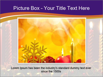 Christmas candles PowerPoint Template - Slide 15