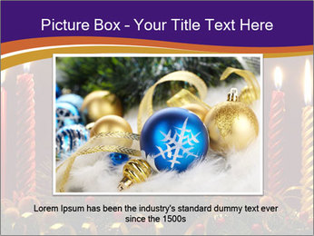 Christmas candles PowerPoint Template - Slide 16