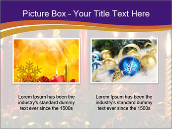 Christmas candles PowerPoint Templates - Slide 18