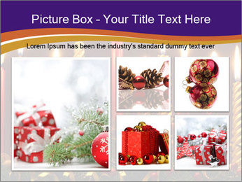 Christmas candles PowerPoint Templates - Slide 19