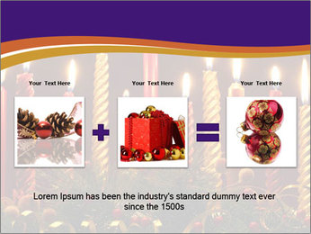 Christmas candles PowerPoint Template - Slide 22