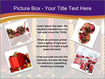 Christmas candles PowerPoint Template - Slide 24