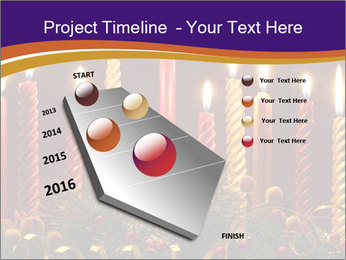 Christmas candles PowerPoint Templates - Slide 26