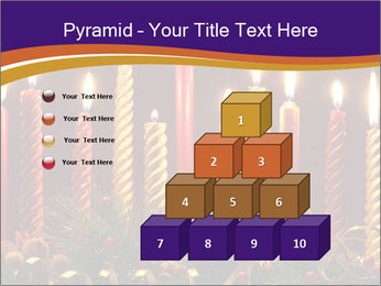 Christmas candles PowerPoint Template - Slide 31