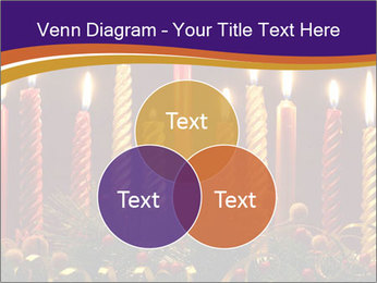 Christmas candles PowerPoint Template - Slide 33