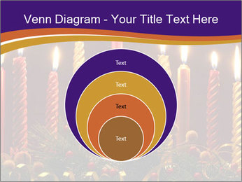Christmas candles PowerPoint Templates - Slide 34