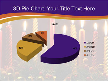 Christmas candles PowerPoint Template - Slide 35