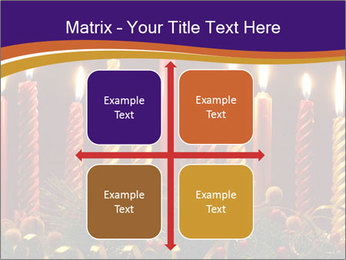 Christmas candles PowerPoint Templates - Slide 37