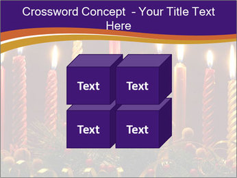 Christmas candles PowerPoint Templates - Slide 39