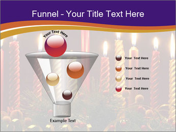 Christmas candles PowerPoint Templates - Slide 63