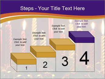 Christmas candles PowerPoint Templates - Slide 64