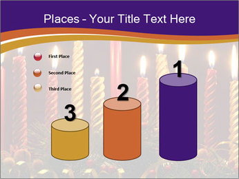 Christmas candles PowerPoint Templates - Slide 65