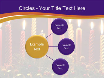 Christmas candles PowerPoint Templates - Slide 79
