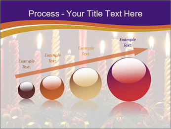 Christmas candles PowerPoint Templates - Slide 87