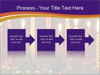 Christmas candles PowerPoint Template - Slide 88
