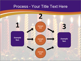 Christmas candles PowerPoint Templates - Slide 92