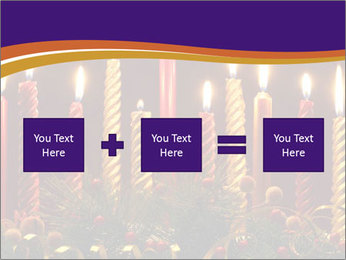 Christmas candles PowerPoint Templates - Slide 95