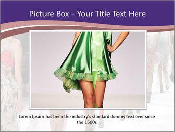 Models walk the runway PowerPoint Template - Slide 15