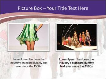 Models walk the runway PowerPoint Template - Slide 18