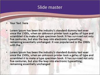 Models walk the runway PowerPoint Template - Slide 2