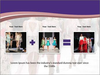 Models walk the runway PowerPoint Template - Slide 22