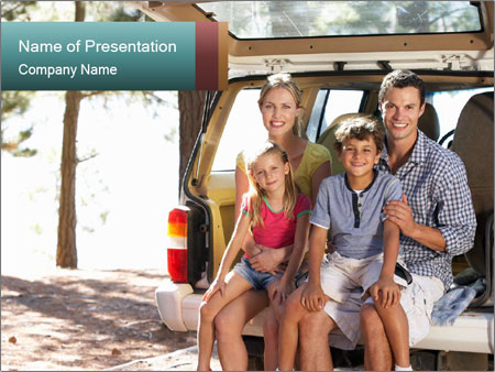 Family day PowerPoint Template