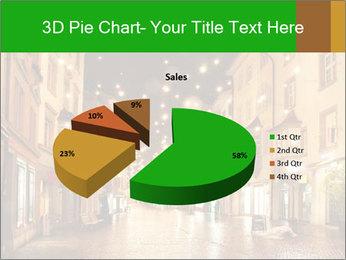 Street in a Christmas night PowerPoint Template - Slide 35