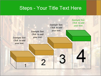 Street in a Christmas night PowerPoint Templates - Slide 64