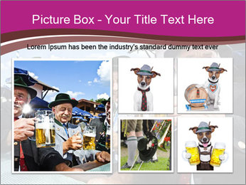 Bavaria in the beer garden PowerPoint Templates - Slide 19