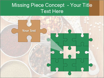 Variety of spices PowerPoint Templates - Slide 45