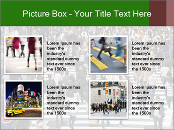 The famous scramble crosswalk PowerPoint Template - Slide 14