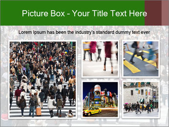 The famous scramble crosswalk PowerPoint Template - Slide 19