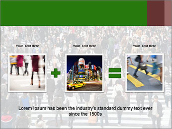 The famous scramble crosswalk PowerPoint Template - Slide 22