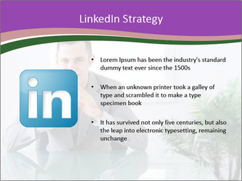 Young businessman PowerPoint Templates - Slide 12