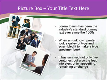 Young businessman PowerPoint Template - Slide 17