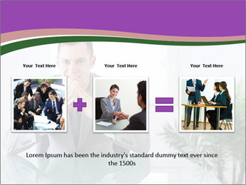 Young businessman PowerPoint Templates - Slide 22