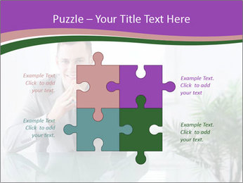 Young businessman PowerPoint Templates - Slide 43